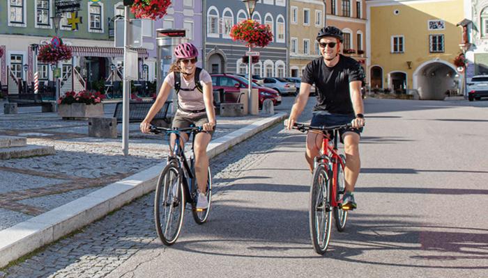KTM kaupunkipyörät