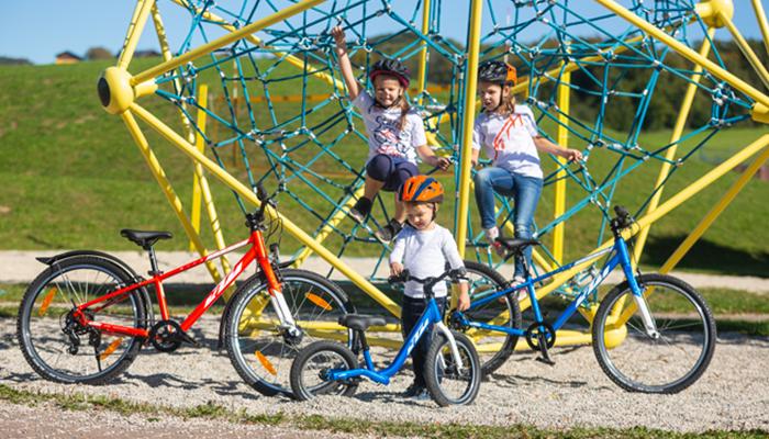 KTM lastenpyörät